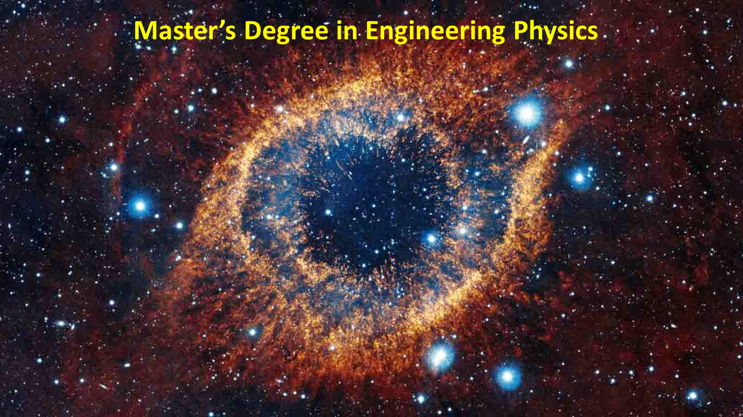 Master's degree in Engineering Physics, (open link in a new window)